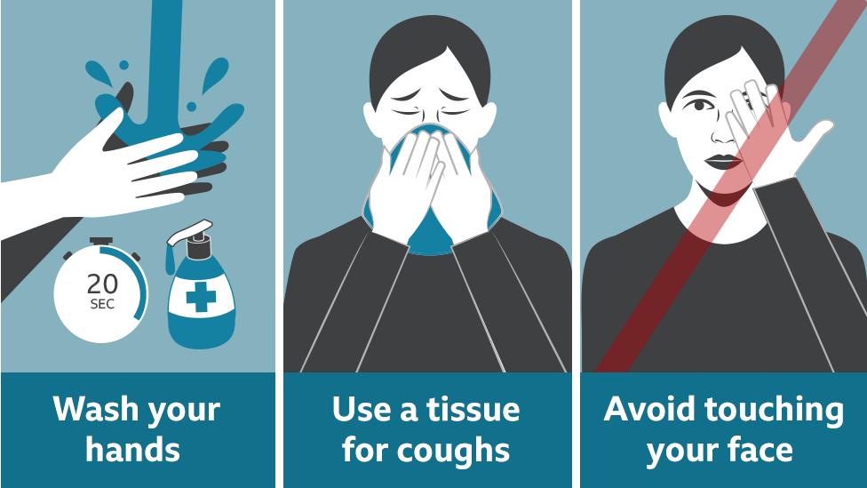 Coronavirus how to stop the spread